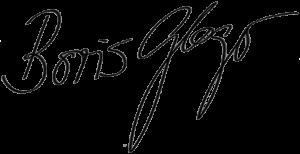 Signatur Boris Gloger