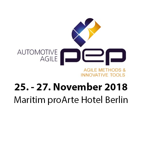 borisgloger at Automotive Agile PEP 2018